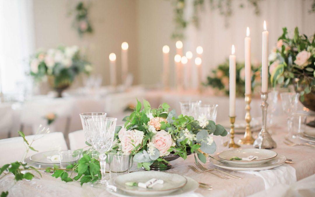 Fixa festlokalen till bröllopet